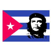 CHE CUBA BANDIERA