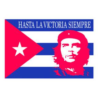 CHE CUBA HASTA BANDIERA