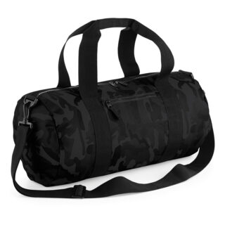sacca nera camouflage