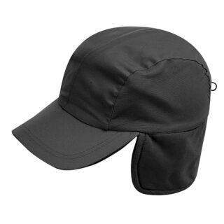 winter black cap